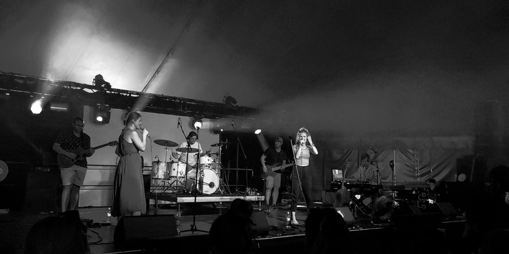 Skupina Heartbeat na Pohode 2018 Foto: pán Patrik