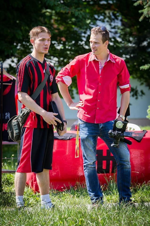 Martin ako mladý futbalový talent Foto: FB Martin Dvornický