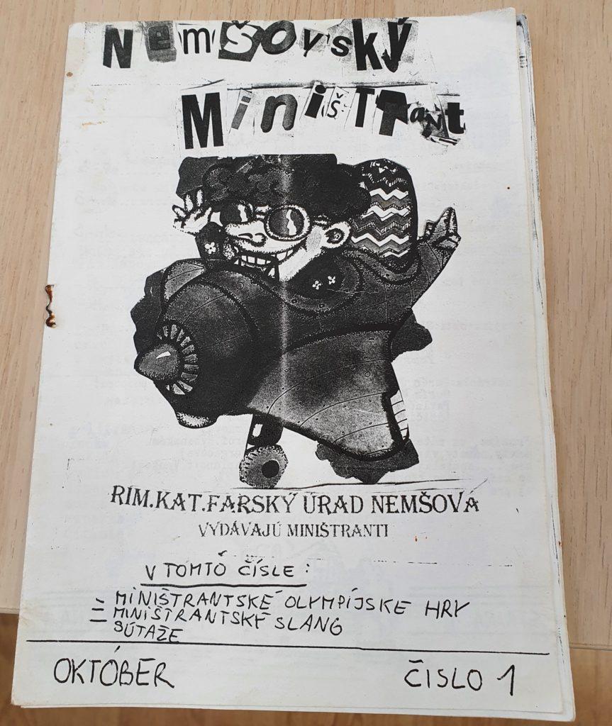 Nemšovský miništrant je prvotina Martina Ližičiara Foto: Patrik Bendík