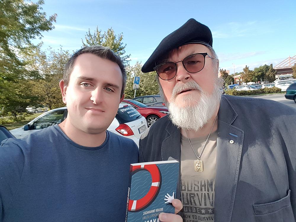 Martin na stretnutí slovenských kresťanských vydavateľov Foto: FB/ Slová Martina Ližičiara